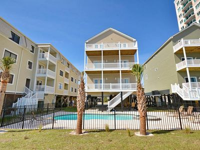 Photo for Tropical Dunes, Luxury Oceanfront House in Cherry Grove with Game Room, Hot Tub and Pool