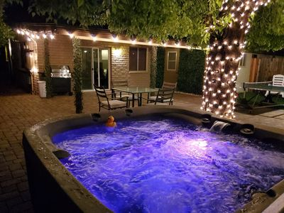 Photo for Pet friendly Canal & Trail Access OldTown Scottsdale w/Hot Tub &  Huge Pato