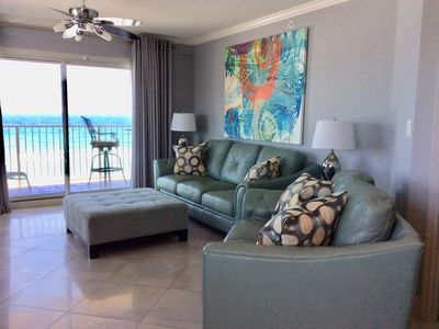 Photo for 6th Floor Gulf Front Corner Unit Free Beach Service