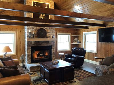 Photo for New Upper Peninsula  Lodge on 150 acres located between Escanaba and Marquette