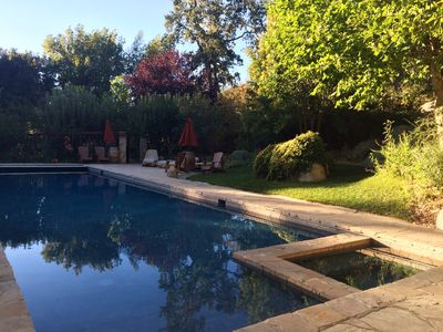 Photo for Large 'Park-like' Home/Retreat with **POOL&SPA** neighboring wineries on 46West