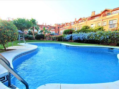 Photo for TORREMOLINOS APARTMENT. WIFI, PARKING, AC AND POOL.