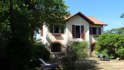 Photo for Beautiful French Family villa 5 min from the famous beach of Capbreton