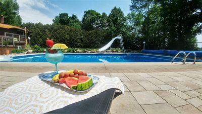 Photo for Peaceful Lakefront Bed and Breakfast with Private Pool