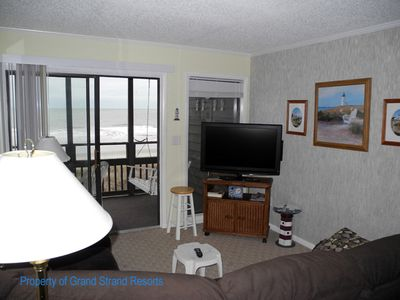 Photo for Tilghman Beach and Racquet Club Unit: 222! Oceanfront 3 Bedroom Condo. Book now for best rates!