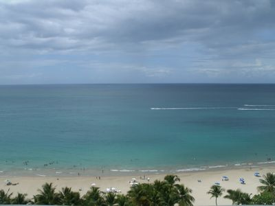 Photo for 5 STAR RATED: ISLA VERDE BEACH 17th FLOOR  MARBELLA APT. WITH A WOW!! OCEAN VIEW