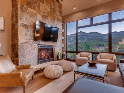 Photo for Gondola In/Out! In beautiful Shock Hill. VIEWS! Private hot tub. Modern luxury.