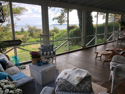 Photo for Waterfront Beach Cottage on Peconic Bay, Cutchogue, NY