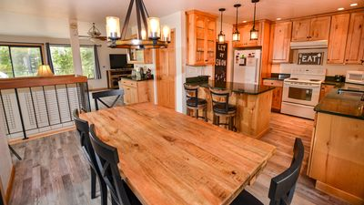 Photo for Serene 3BR/2.5BA retreat. Open and bright with amazing forest views. Walk 2 lake