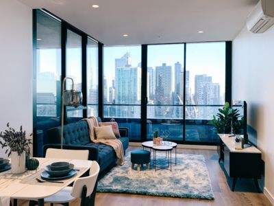 Photo for Modern & chic apt at Melbourne city*free parking #