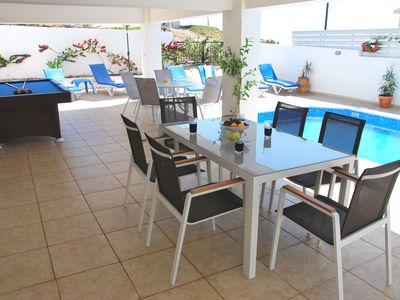 Photo for Villa in Only 50m to the Sea.Unspoiled-Picturesque-Tranquile Area,Paphos