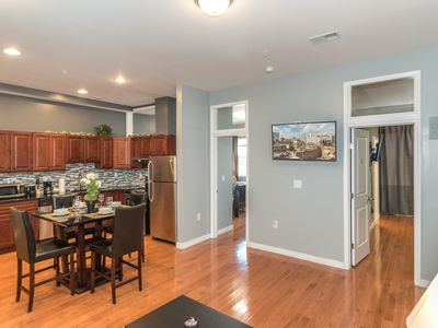 Photo for Center City 2 Bedroom / 2 Bath by Convention Center, New, Modern & Spacious (3A)
