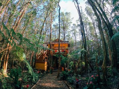 Photo for Peaceful Rainforest Treehouse Retreat