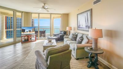 Photo for Lovely 3BR Skyhome with a Sweeping Gulf and Island View