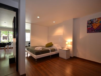 Photo for 1BR Funky Condo nr Zona T & Virrey AMBER