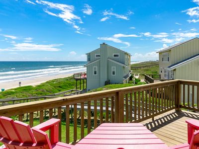 Photo for Fully Remodeled 3BR Ocean View at Lost Colony Steps from Beach - Sleeps  8