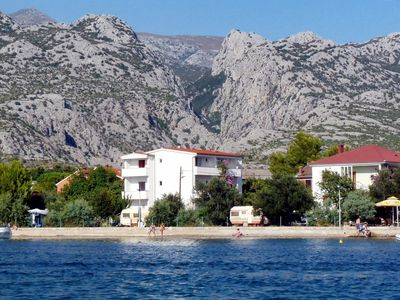 Photo for Apartment in Seline (Paklenica), capacity 2+3