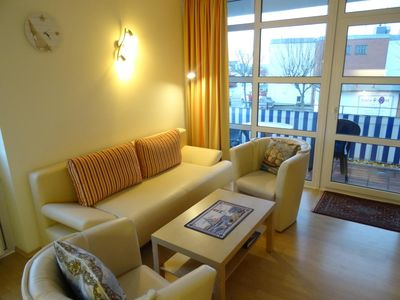 """Photo for Very nice apartment """"Hafenresidenz"""" with balcony and view over the harbor and the Kiel Fjord"""