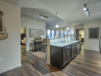 Photo for Luxurious Large 2 bed 2 bath Midtown Condo-Corner Unit #210
