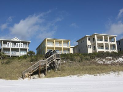 Photo for Emerald Surf Villas 1-B, Gulf Front, 4BR/3BA with Community Pool...Beautiful views!