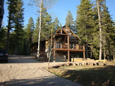 Photo for Newer cabin at Terry Peak, just 1/4 mile from the main lodge!