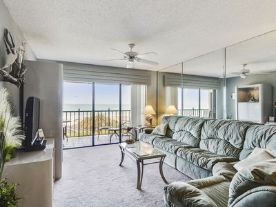 Photo for Land's End #404 building 6 - TOP floor Views / Private Balcony / Beachfront
