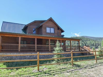 "Photo for NEW! ""Birch Valley""- HUGE Wrap Porch-Family Friendly-ATV Parking-Sleeps 12"