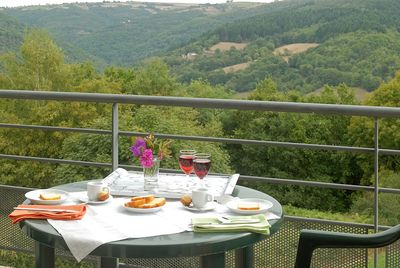 Sit out on your furnished terrace or balcony and enjoy the fresh air (please note that views do vary).