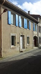 Photo for A large village house, a former bakery in a lively village on the Canal du Midi