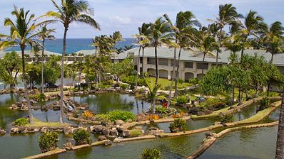Point at Poipu 2 bdrm/2 bath beautiful condo in tropical paradise