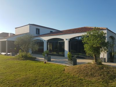 Photo for Property with indoor pool of 270m2