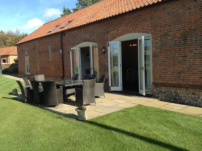 Photo for Spacious converted barn in Aldborough, North Norfolk.  Very close to beaches.