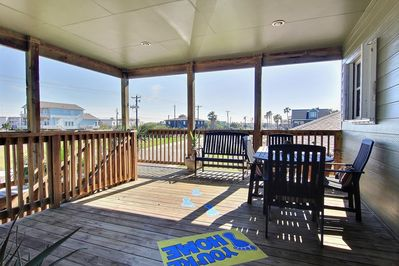 Relax on the Second Level Deck