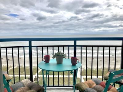 Photo for Oceanfront 1 Bedroom Suite with Full Kitchen At Boardwalk Resort