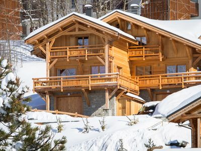 Photo for Wonderful chalet, 50 m from the slopes