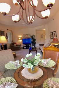 Photo for Immaculate Resort Quality, Gated, Sunny End Unit
