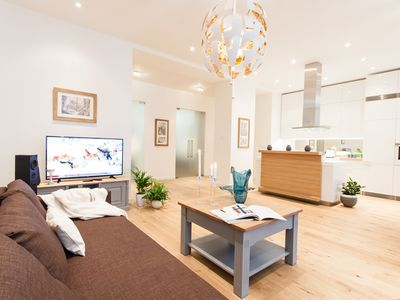 Photo for Glamour Excellent C 5-Bedrooms, 5-Bathrooms, Balcony apartment (Prague Old Town)