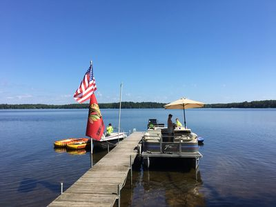 Photo for Beautiful Lakefront Vacation Home - family memories made here!