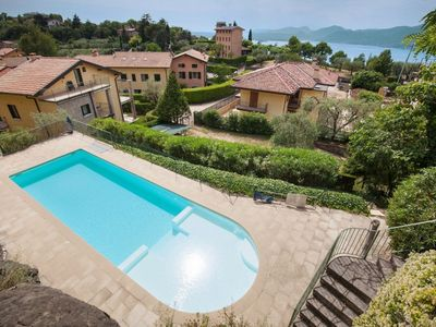 Photo for 2 beautiful pools and 1 whirlpool with a fantastic lake view (pools are not heated)
