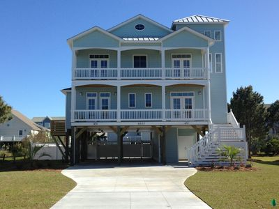 Photo for Newer Ocean View home w/Pool and  Walk to Ocean and Intercoastal