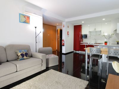 Photo for Apartment 2 rooms EXCLUSIVE 100m from the beach w / Swimming pool and Parking