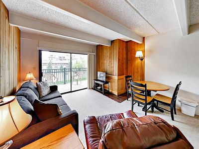 Living Room - Your Lionshead village condo is professionally managed by TurnKey Vacation Rentals.