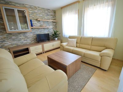 Photo for Apartment in the center of Starigrad with Parking, Internet, Washing machine, Air conditioning (318496)