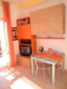 Photo for Sunny apartment in the green near the sea