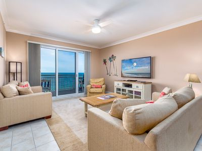 Photo for Gateway Grand 710 Oceanfront decorator furnished condo includes storage locker!