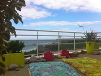 Very nice apartment and a grat terrace with a splendid view!