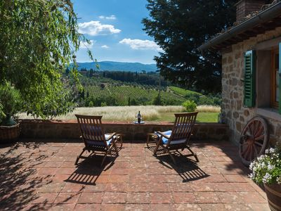 Photo for House with views of the Chianti