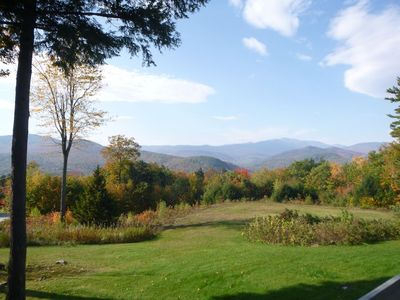 Photo for Breathtaking Mountain Views, Fully Stocked Condo, Minutes to Story Land