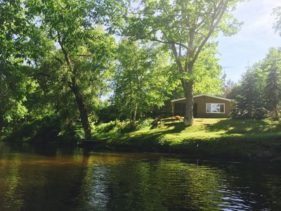 Photo for Picturesque Riverfront Home On Pere Marquette River With Incredible Views!