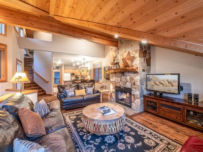 Photo for Free Cancellation, Professionally Cleaned, Fun Family Escape–Walk to Alpine Slide, Smart TV, Hot Tub